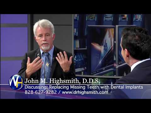 No More Dentures with Clyde, NC dentist John Highsmith, DDS