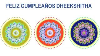 Dheekshitha   Indian Designs - Happy Birthday