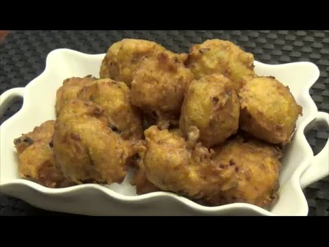 Trini Salt Fish Accra - Salted Cod Fritters - Episode 92