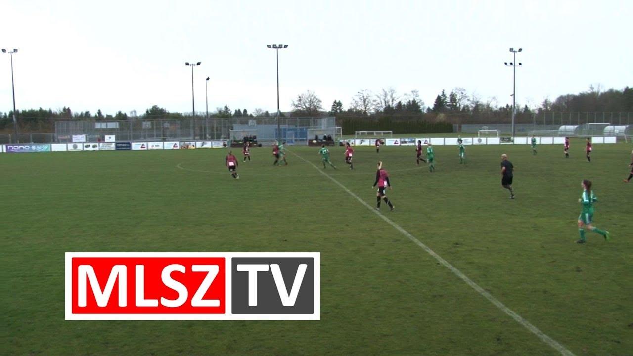 Haladás Viktória - Astra 4-IG HFC | 9-0 | JET-SOL Liga | Alsóházi rájátszás 1. forduló | MLSZTV