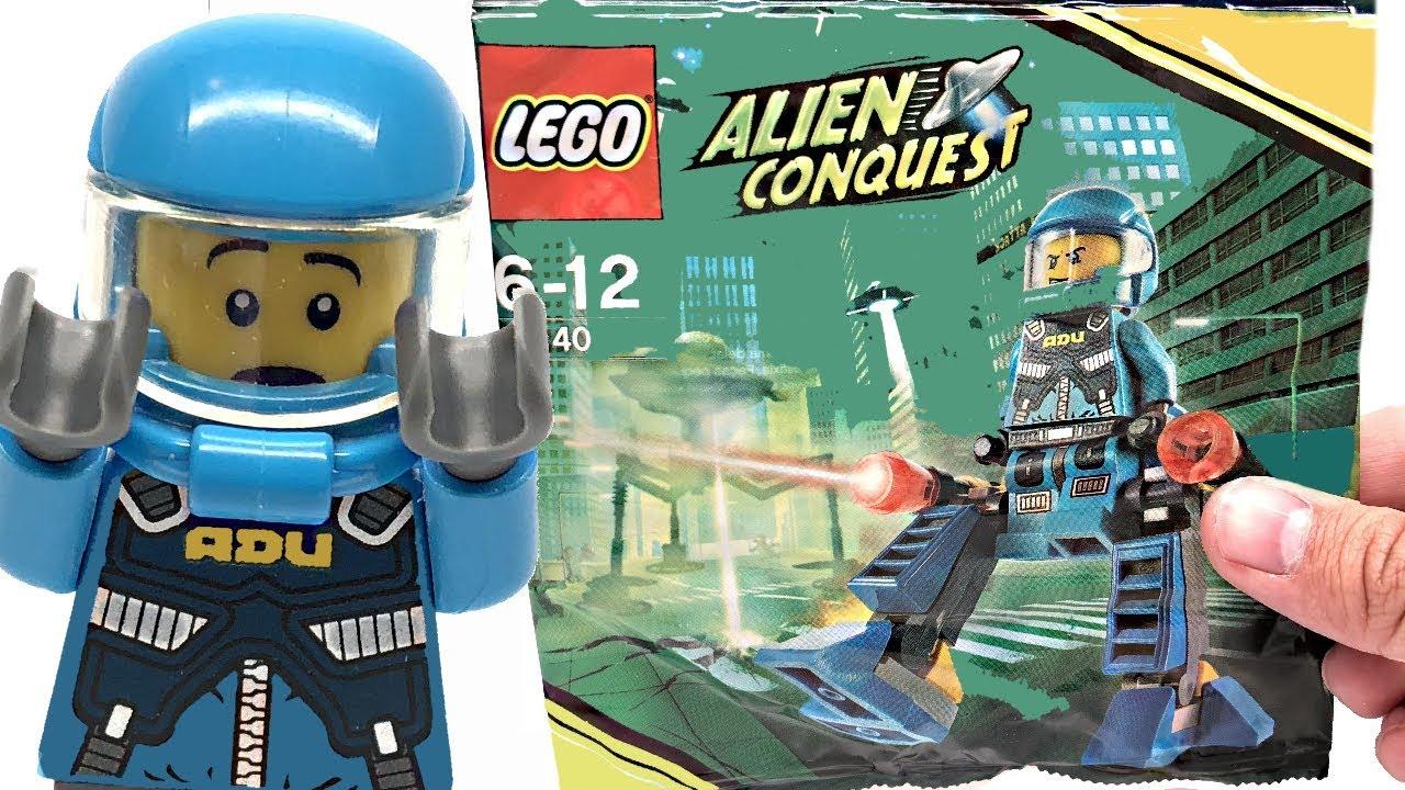 LEGO Alien Conquest ADU Walker review! 2011 polybag 30140 ... |Lego Alien Invasion