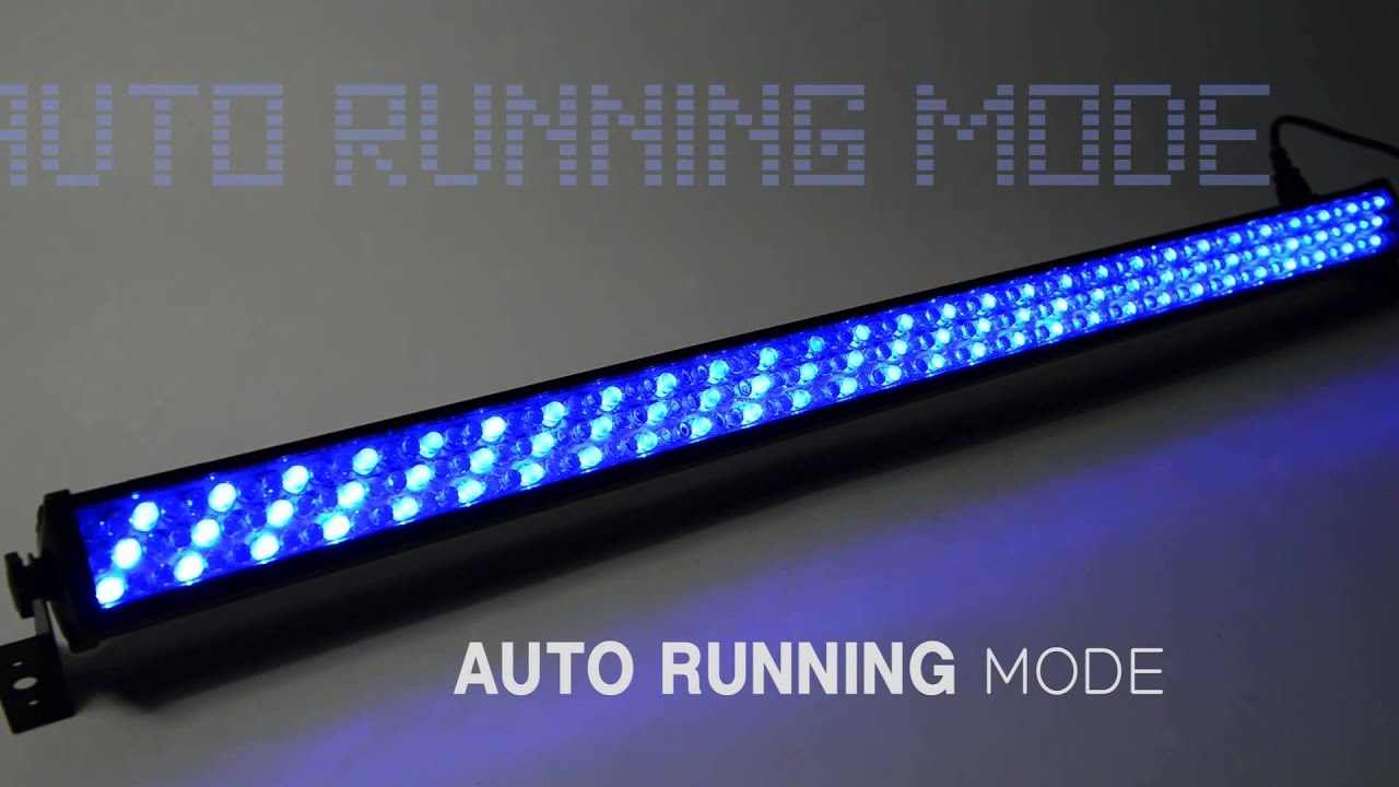 Rgb led light bar slim252 youtube aloadofball