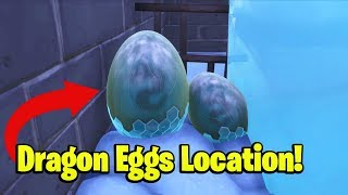 How to find DRAGON EGGS in Fortnite!