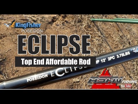 ASFN Tackle & Gear   Kingfisher Poseidon Eclipse Carp 12ft 3.75lbs - Available Mid September 2019