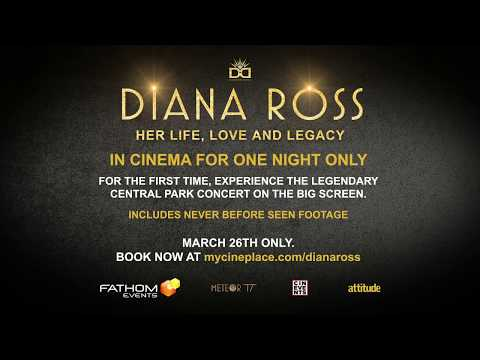 DIANA ROSS HER LIFE, LOVE & LEGACY - 26th MARCH 2019 Cinevents Mp3