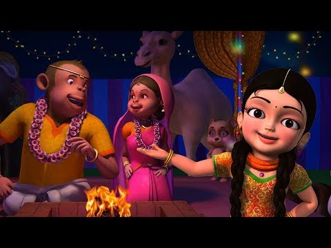 Bandar Ji Ki Shaadi Hai | Hindi Rhymes for Children | Infobells