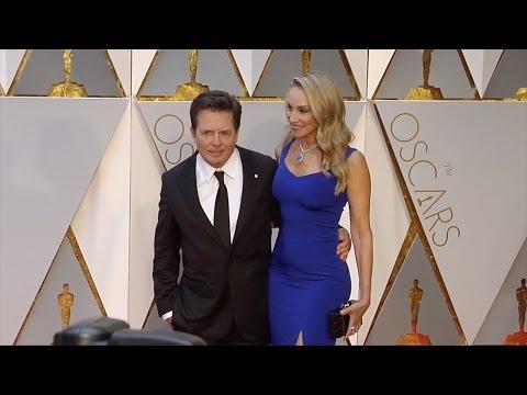 Michael J. Fox and Tracy Pollan 2017 Oscars Red Carpet