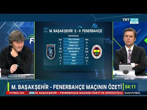 Rıdvan Dilmen ve Erbatur Ergenekon ile %100 Futbol | M.Başakşehir-Fenerbahçe | Maç sonu yorumları