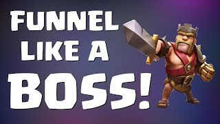 Clash of Clans: HOW TO FUNNEL LIKE A BOSS! | Mister Clash