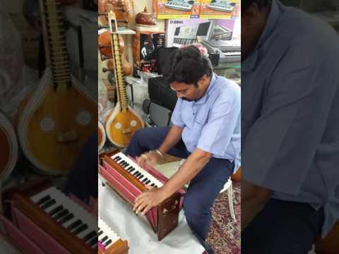 Compact Portable Harmonium ARUNA MUSICALS