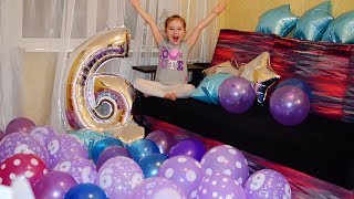 BIRTHDAY 6 years Morning Birthday Party Many balls Fashionable Gifts Children's perfumes
