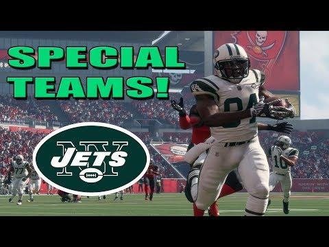 SPECIAL TEAMS! | Ep.6 Madden 18 Jets Franchise en ESPAÑOL!