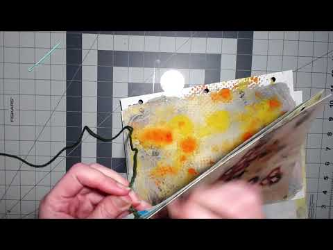 Easy Single Sheet Binding | DIY Art Journal 3