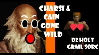 CHARSI AND CAIN GONE WILD!! NO ONE FOUND THIS D2 GLITCH FOR 20 YEARS!! -Holy Grail Sorc (02/12/2019)