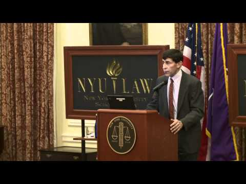 15th Annual David R. Tillinghast Lecture on International Taxation: Daniel Shaviro
