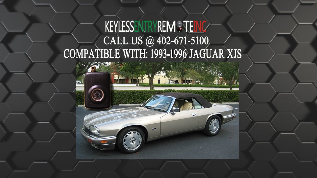 Keyless Entry Remote >> How To Replace Jaguar XJS Key Fob Battery 1993 1994 1995 ...