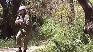 Отработка атаки ближнего боя