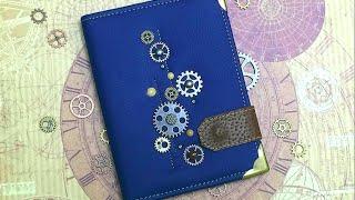 Обложка для паспорта !!!(Кто желает помочь в развитии моего канала Вам сюда - http://www.donationalerts.ru/r/mariyascrap бронзовые шестерёнки https://goo.gl/L3YL..., 2016-05-04T14:23:47.000Z)