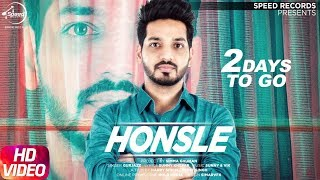 Latest Punjabi Song 2017 | Honsle | 2 Day To Go | Gurjazz | Releasing on 7th Aug