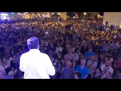 Chiusura comizio Giliberti Lecce 2017