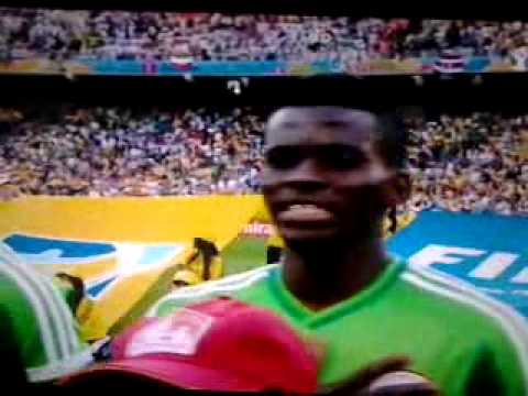BRAZIL WORLD CUP 2014 - National Anthem Nigeria