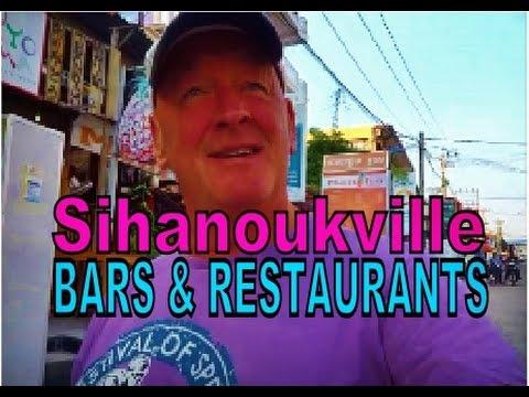 Cambodia Sihanoukville Bars & Restaurants where's good & not so good.