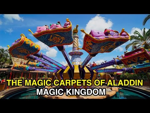 [4K] The Magic Carpets of Aladdin - Taking Flight : Magic Kingdom (Orlando, FL)
