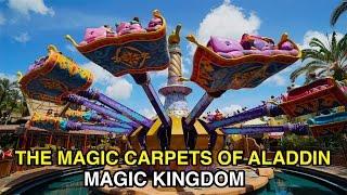 [4K] The Magic Carpets of Aladdin - Taking Flight : Magic Kingdom (Orlando, FL)