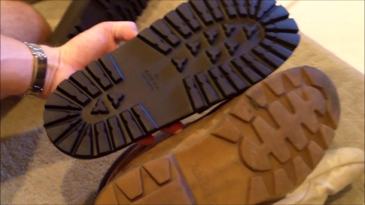 aa3e0a9b5fa Gucci Flip Flops REVIEW AND SIZE COMPARISON (2017 Pursuit Trek ...