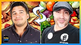 Father And Son Swap Diets For A Week