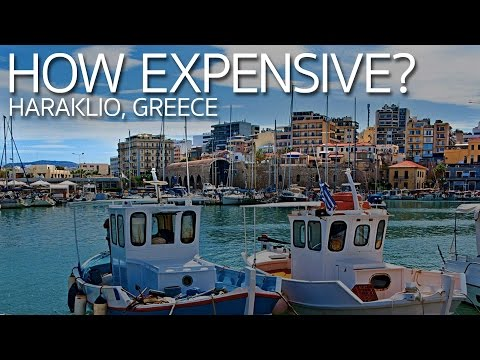 How Expensive is Crete? Heraklio Greece