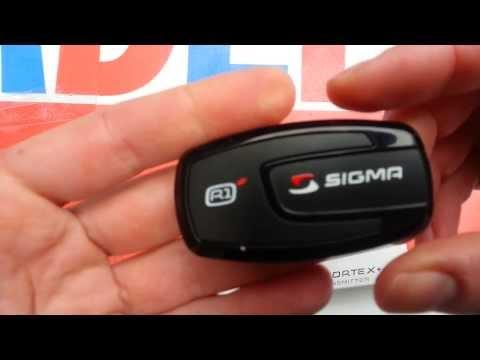 Sigma R1 hartslagmeter band voor telefoon