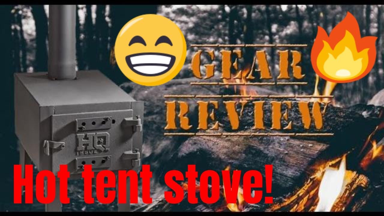 Hq Issue Outdoor Wood Stove By Sportsman S Guide Youtube