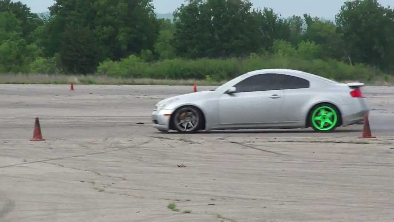 G35 coupe drift youtube g35 coupe drift vanachro Image collections
