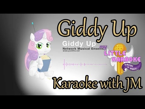 (MLK) Giddy Up By Network Musical Ensemble - Karaoke with JM