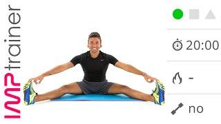 Esercizi Di Stretching Per Gambe, Schiena e Bacino (20 minuti)