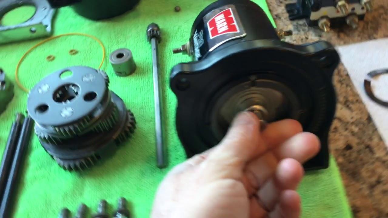 Warn Provantage 4500 Winch T Wiring Diagram Pro Vantage S Rebuild Part 2 4