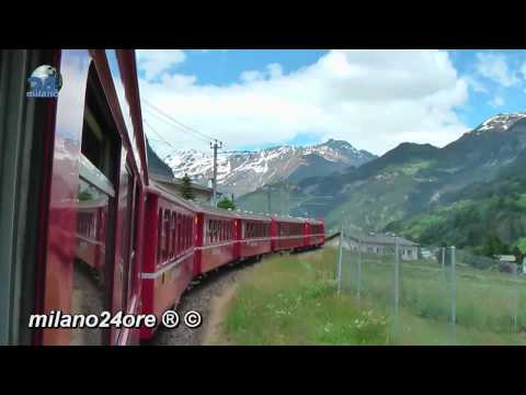 Bernina Express from Tirano to St. Moritz