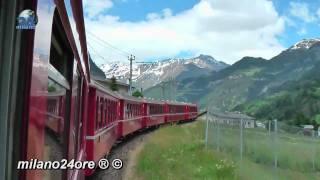 Bernina Express from Tirano to St. Moritz