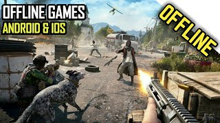 Top 10 OFFLINE Games for Android 2018 [High Graphics]