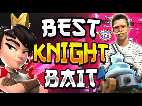 *NEW* KNIGHT ZAPPIES LOG BAIT DECK! Best Clan Wars Deck — Clash Royale