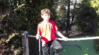"Mini Golf At ""The Castle"""