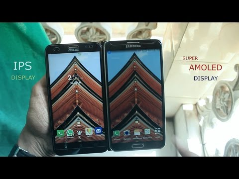 IPS display vs Super AMOLED display-which is best? (best display on smartphone)