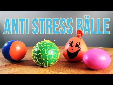 Anti Stress Ball selber machen   3 Arten Anti Stressball