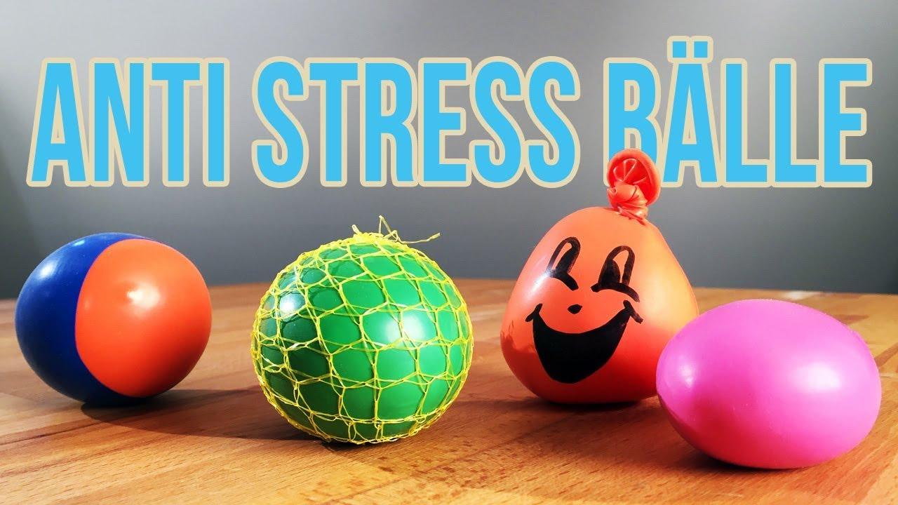 Anti Stress Ball Selber Machen 3 Arten Anti Stressball Youtube