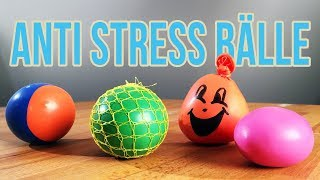 Anti Stress Ball selber machen | 3 Arten Anti Stressball