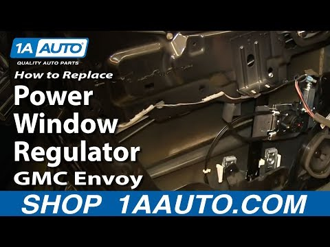 Full download how to replace spare tire carrier hoist for 2002 gmc envoy window regulator