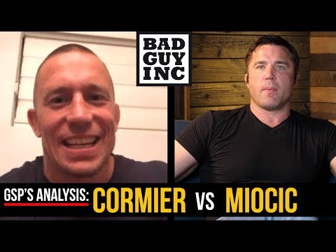 Georges St-Pierre talks Cormier vs Miocic and Jon Jones/DC trilogy...
