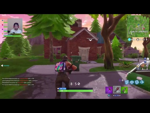 Fortnite Battleroyale: Season 5 Needs to start Already (Open Lobby) (Facecam) (Commentary) (ps4)
