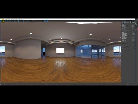 3D MAX Tutorials | Panorama View And Virtual Reality Scene In Corona